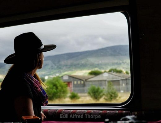 Train travel through Western Cape