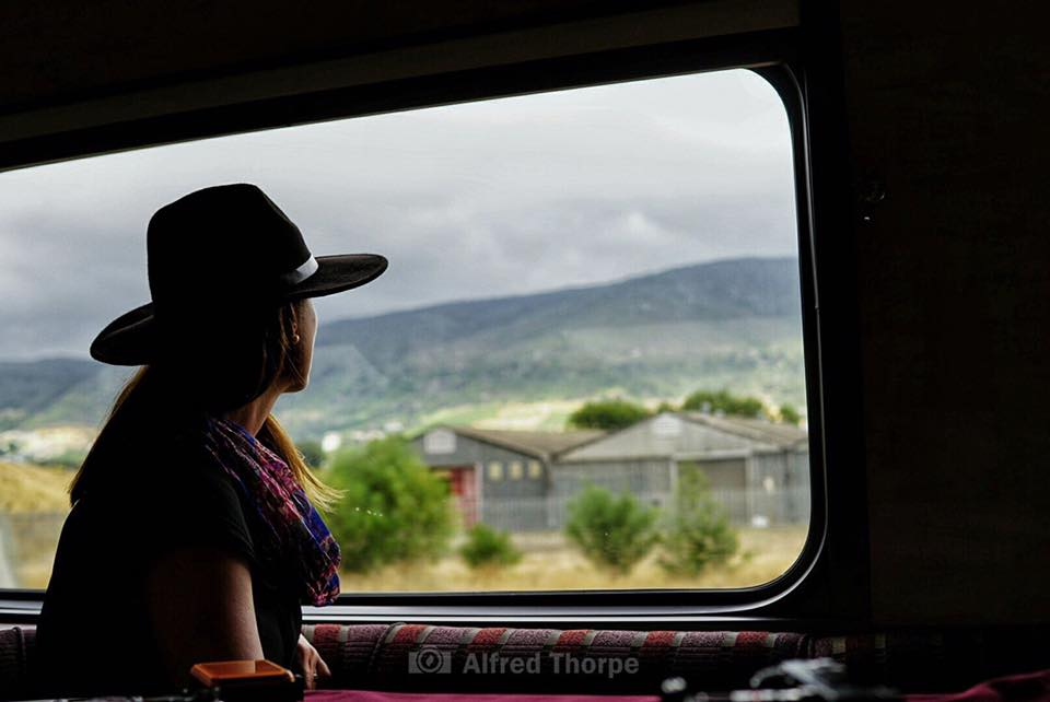 Train travel through Western Cape